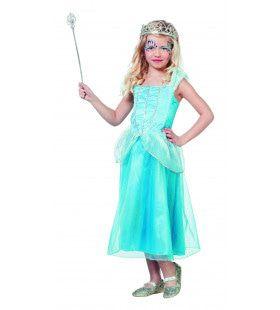 IJzige IJsprinses Meisje Kostuum