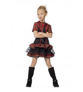 Punk Meisje Funky Chick Kostuum