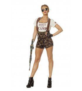 Die Hard Boot Camp Vrouw Kostuum