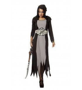 Halloween Met Riem Vleermuis Van De Nacht Vrouw Kostuum