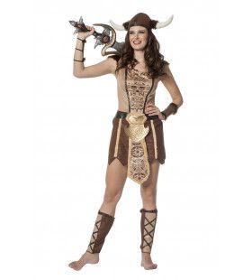 Viking Dame Apostra Vrouw Kostuum