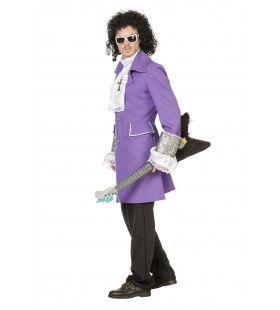 Purple Rain Paarse Prins Popartiest Man