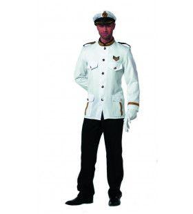 Officier Marinier Eerste Klas Man Kostuum