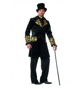 Gotische Jas Luxe Gold Man