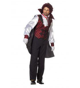 Vampier Slapeloze Nachten Man Kostuum