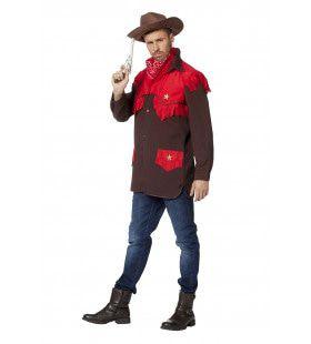 Cowboyhemd Red Devil Man