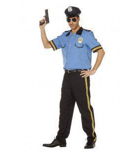Politie Harry Handhaver Man Kostuum