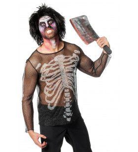 Netshirt Skelet Man