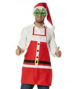 Vrolijk Schort Kerstman Volwassenen