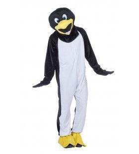 Mascotte Pinguin Puck Man Kostuum