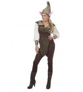 Grote Oren Elf Vrouw Kostuum