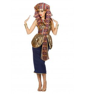 Sesjesjet Koningin Van Egypte Vrouw Kostuum