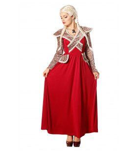 Lady Of The Thrones Vrouw Kostuum
