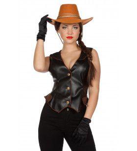 Cowgirl Jessie Vest Luxe Vrouw