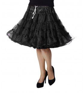 Petticoat Swing Luxe Zwart
