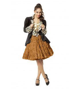Petticoat Swing Luxe Metallic Brons