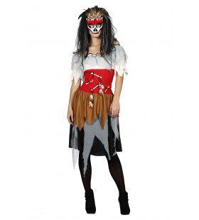 Voodoo Medicijn Vrouw Kostuum