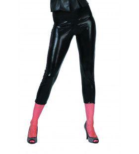 Legging Zwart Glimmend Vrouw