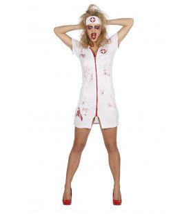 Sexy Verpleegster Met Bloed Kostuum