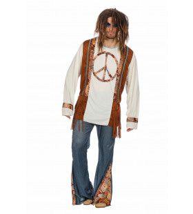 Hippie Peace Forever Man Kostuum