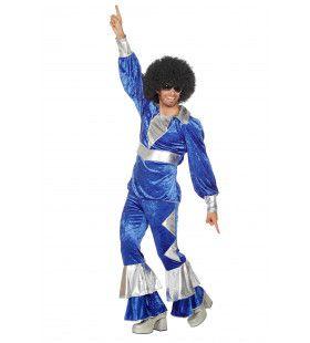 Fernando Dancing Abba Pop Man Kostuum