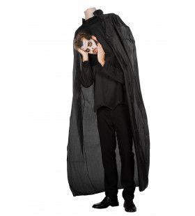 Man Met Afghakt Hoofd Horror Halloween Kostuum