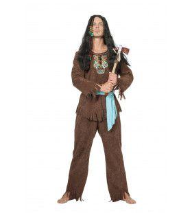 Indiaan Waccamaw Luxe Man Kostuum