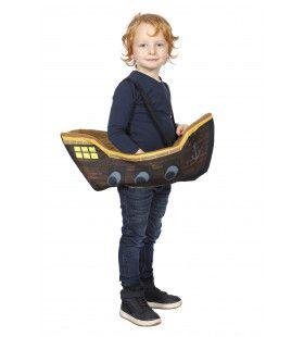 Schip Aan Bakboord Kind Kostuum