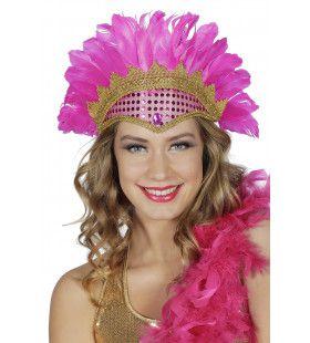 Roze Samba Brazil Tooi Met Pailletten En Veren
