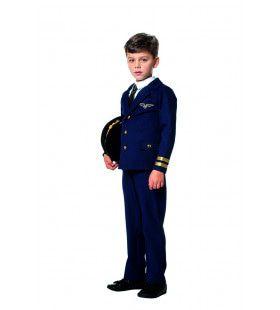 Altijd In De Lucht Piloot Jongen Kostuum