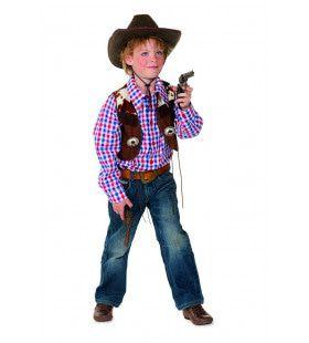 Lone Ranger Cowboy Blouse En Vest Jongen