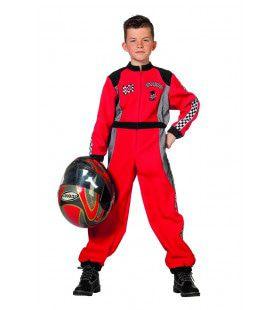Silverstone Formule 1 Racer Jongen Kostuum
