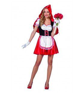 Roodkapje Uit Een Sprookje Vrouw Kostuum