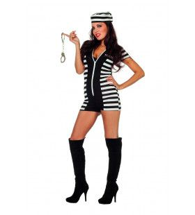Zet Me Vast Catsuit Boef Vrouw Kostuum