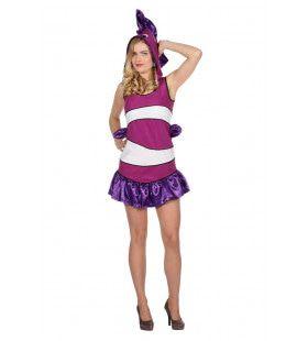 Tropische Vis Cozumel Vrouw Kostuum