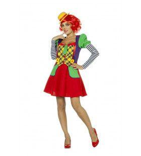 Clown Theater Van De Lach Vrouw Kostuum