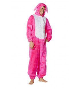 Lekker Opvallende Haas Neon-Roze Kostuum