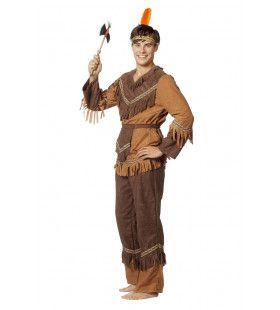 Omamiwininiwak Indiaan Wilde Westen Man Kostuum
