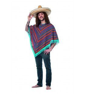 Poncho Mexicaanse Bandido Pancho Villa