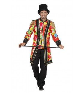 Lange Circus Jas Vol Ballonnen Man