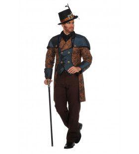 Steampunk Jas Industrieel Man Kostuum