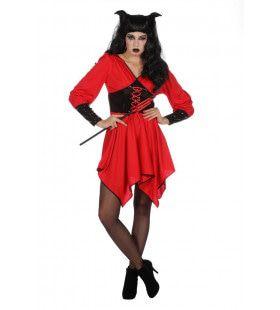 Heet Als Hel Duivel Vrouw Kostuum