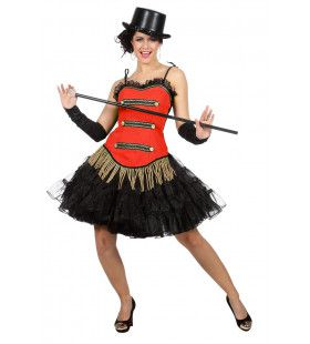 Rood Corset Theater Danseres
