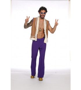 Dopey Donovan Hippie Peace Man Kostuum