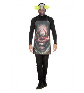 Scary Clown Schort Met Griezel Masker