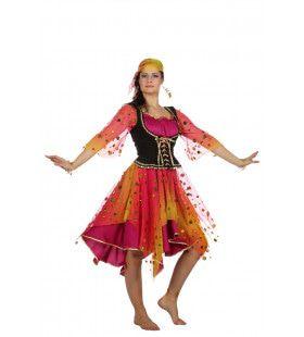 Roma Zigeunerin Esmeralda Vrouw Kostuum