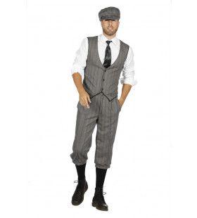 Roaring 20s Set Finn Peaky Kuitboek Man Kostuum