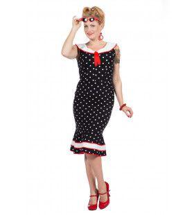 Rockabilly Jurk Bolletjes Betty Vrouw