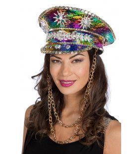Kleurrijke Hippie Flowerpower Burning Man Festival Pet