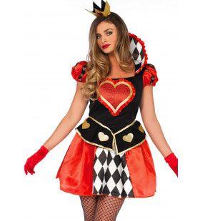 Koningin Met Een Groot Hart Vrouw Kostuum